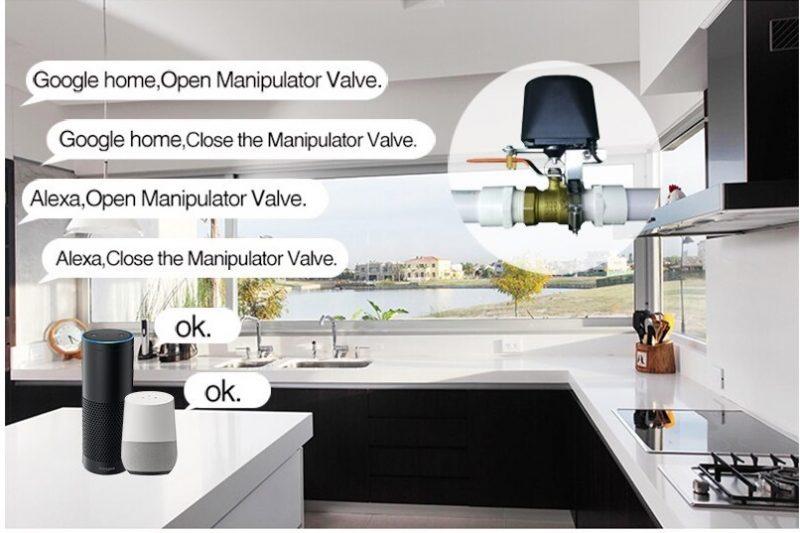 Automatic water shut off valve