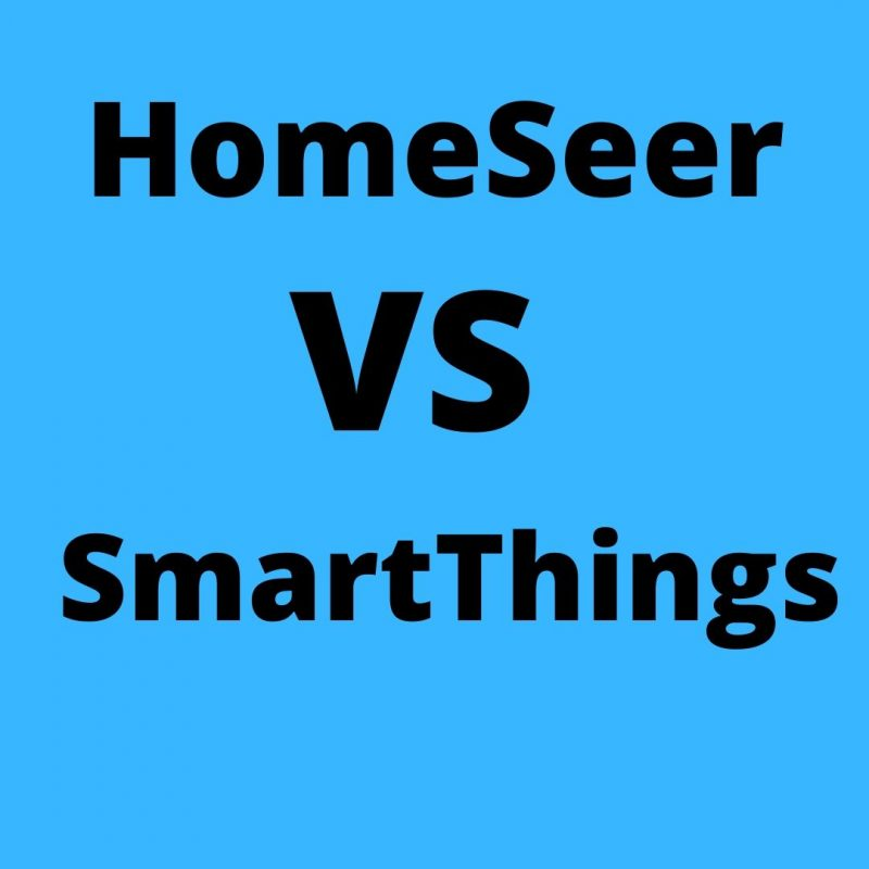 HomeSeer vs SmartThings