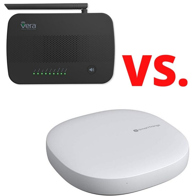 SmartThings vs Vera