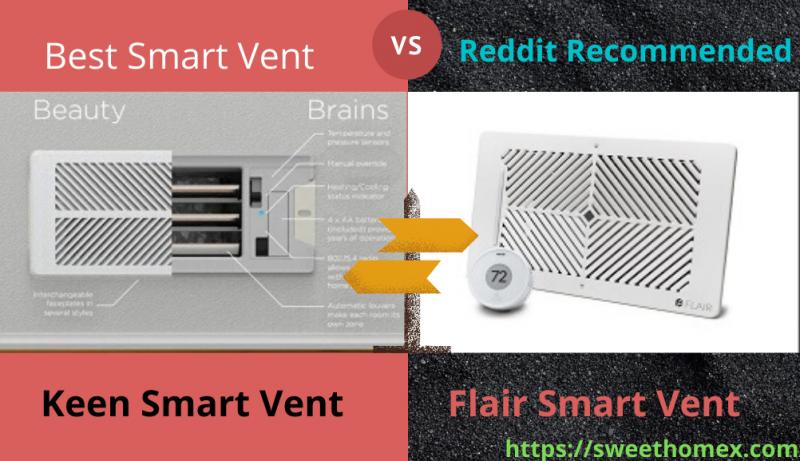 Keen vs. Flair Smart Vents