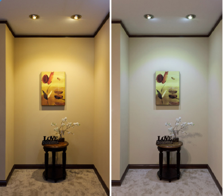 Difference Between Warm White and Cool Light